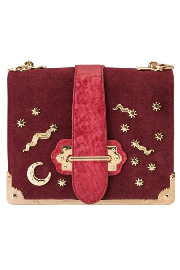 Celestial Bag in Mulberry