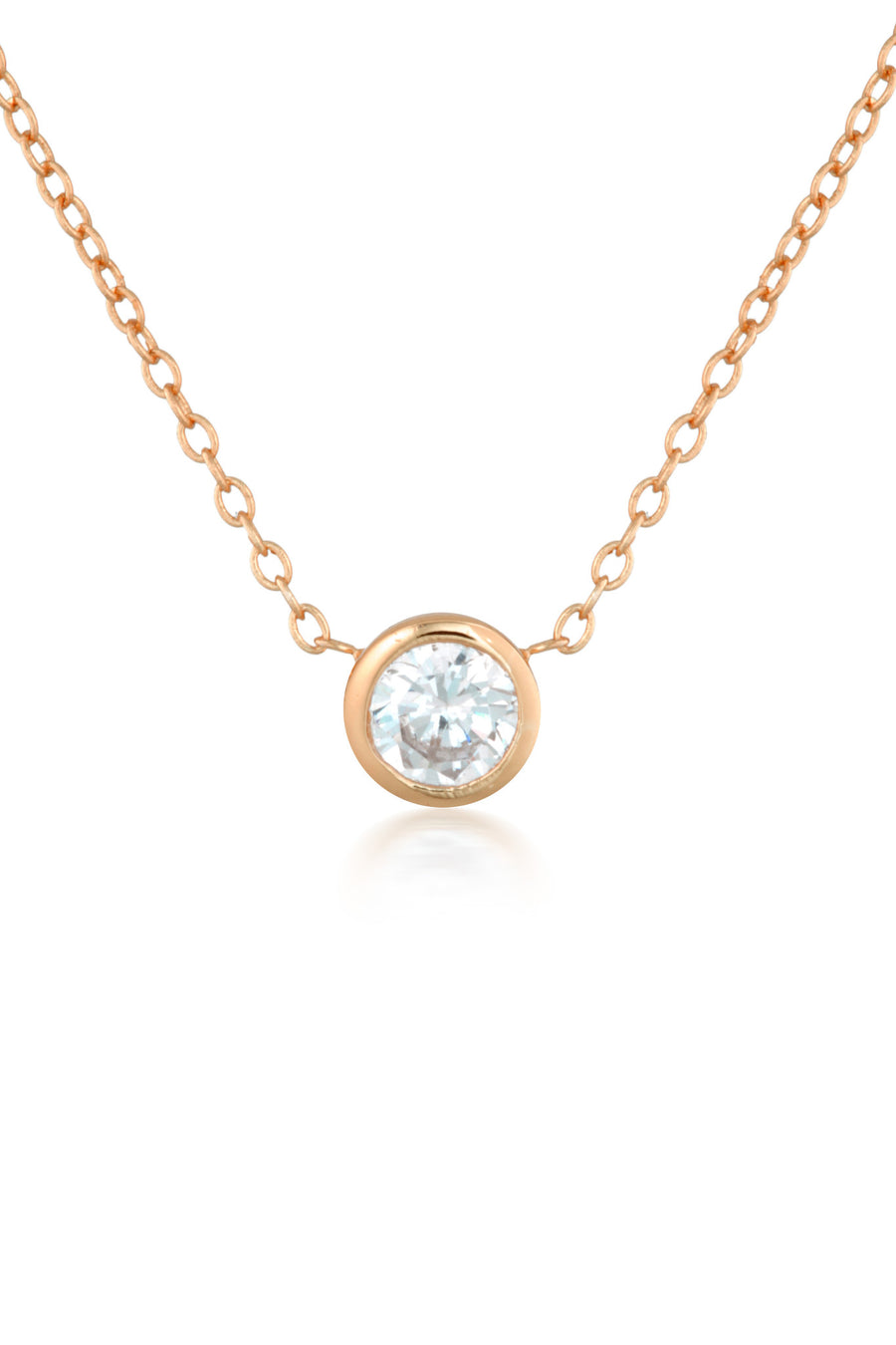 Myla Necklace in Rose Gold