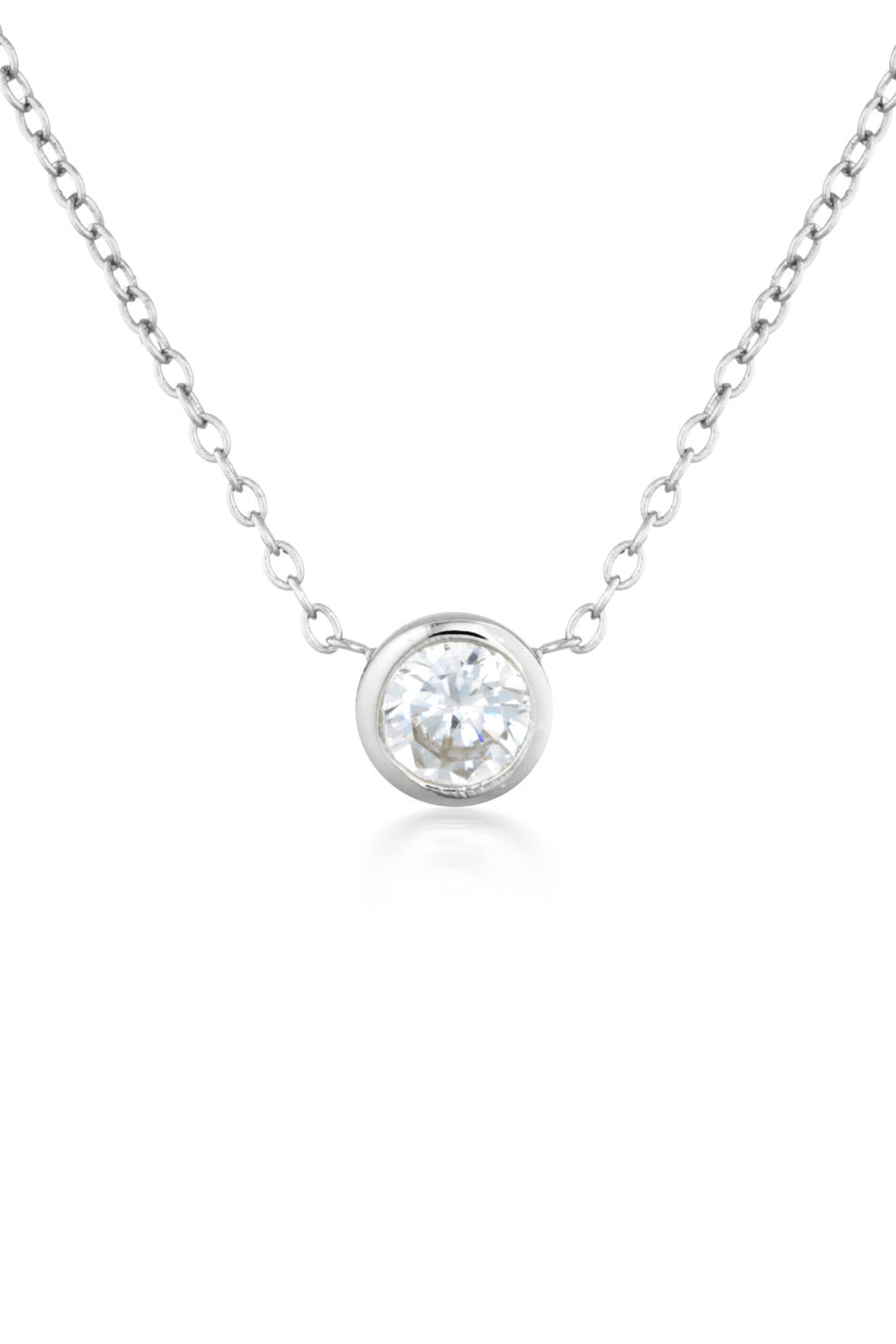 Myla Necklace in Silver