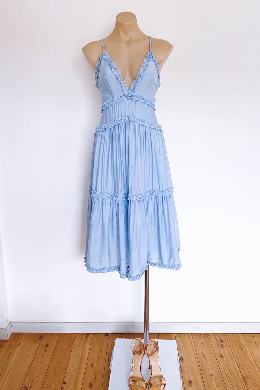 Willow Dress in Blue for $85.00