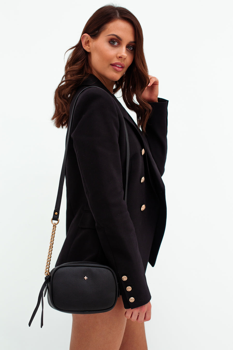 Gia Bag in Black - HER Empire Fashion Boutique Terrigal & Online