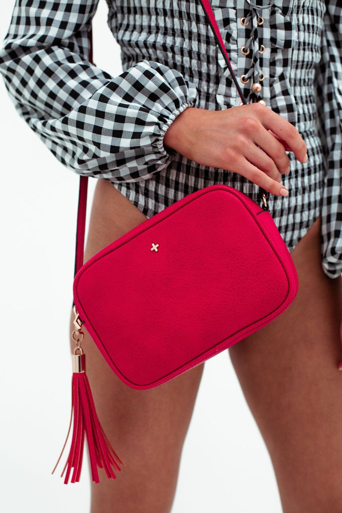 Gracie Bag in Red for $69.95