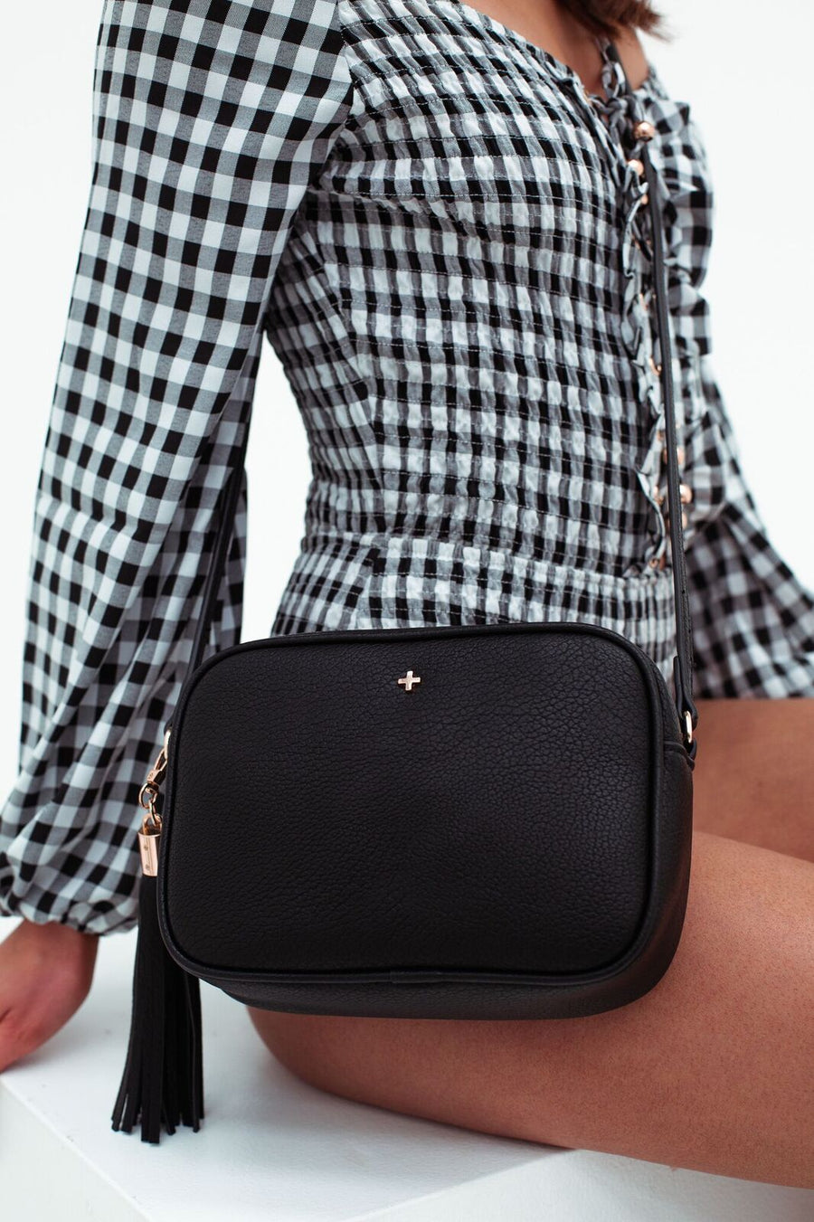 Gracie Bag in Black - HER Empire Fashion Boutique Terrigal & Online