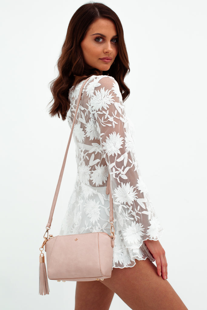 Giselle Bag in Pastel Pink for $69.95