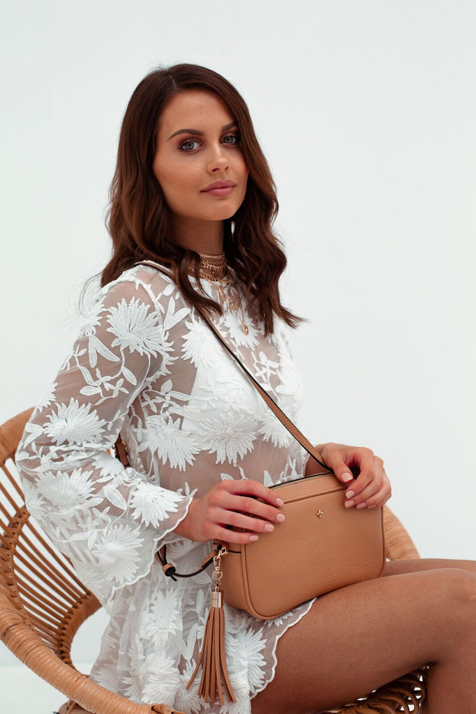 Gracie Bag in Caramel for $69.95