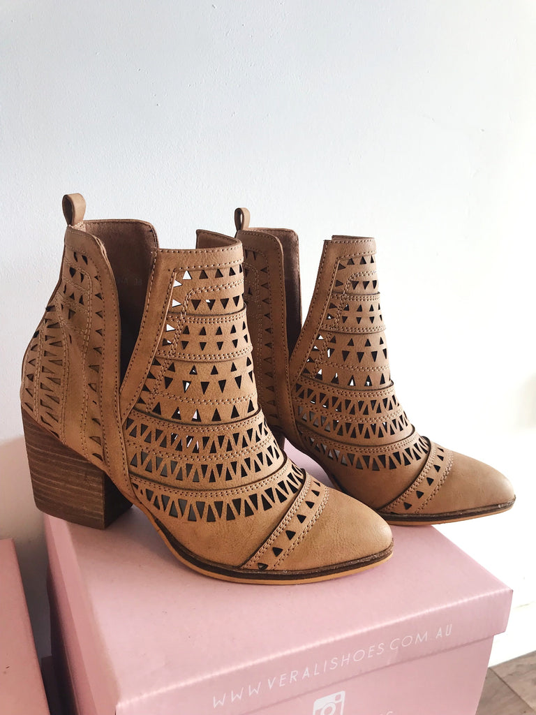 Karina Boot in Tan - HER Empire Fashion Boutique Terrigal & Online