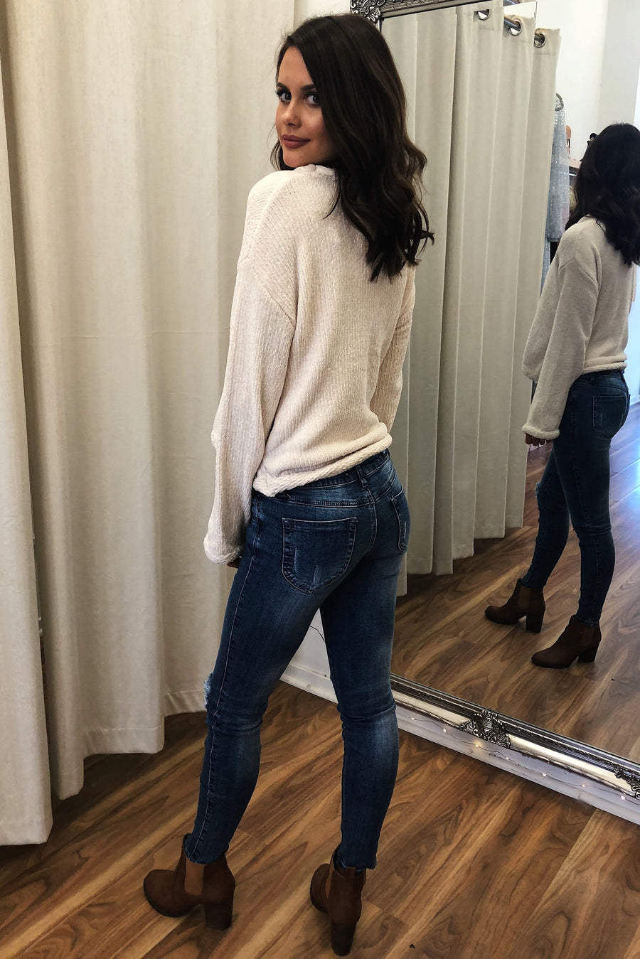 Don't Call Me Baby Jeans - HER Empire Fashion Boutique Terrigal & Online