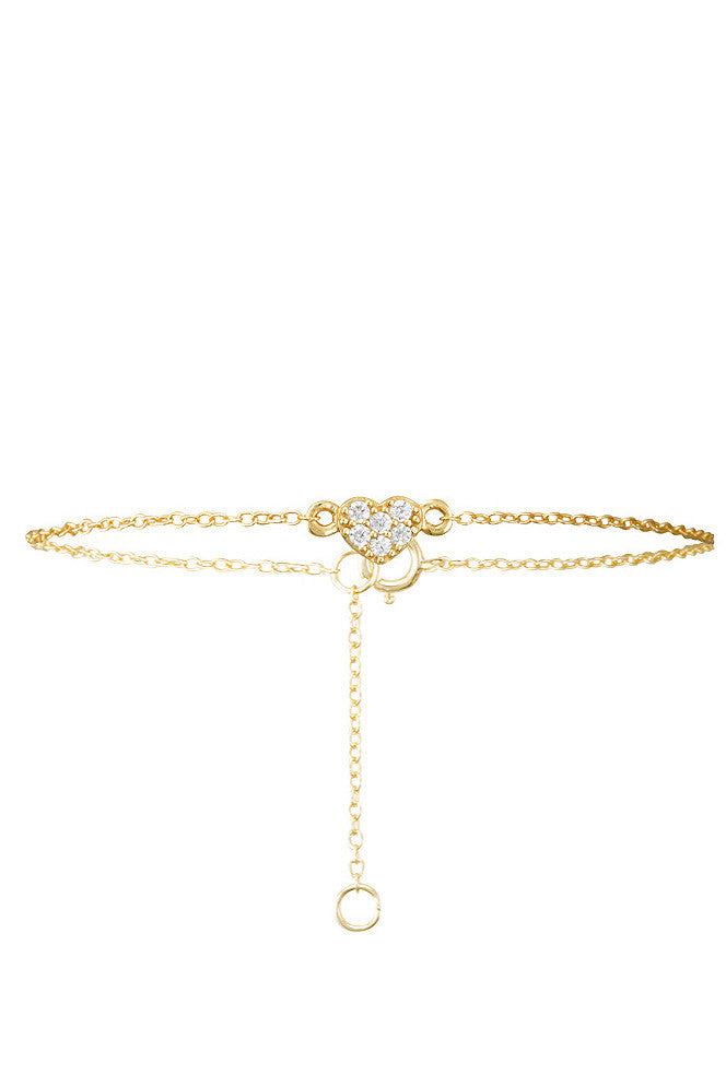 Rosie Bracelet Gold - HER Empire Fashion Boutique Terrigal & Online
