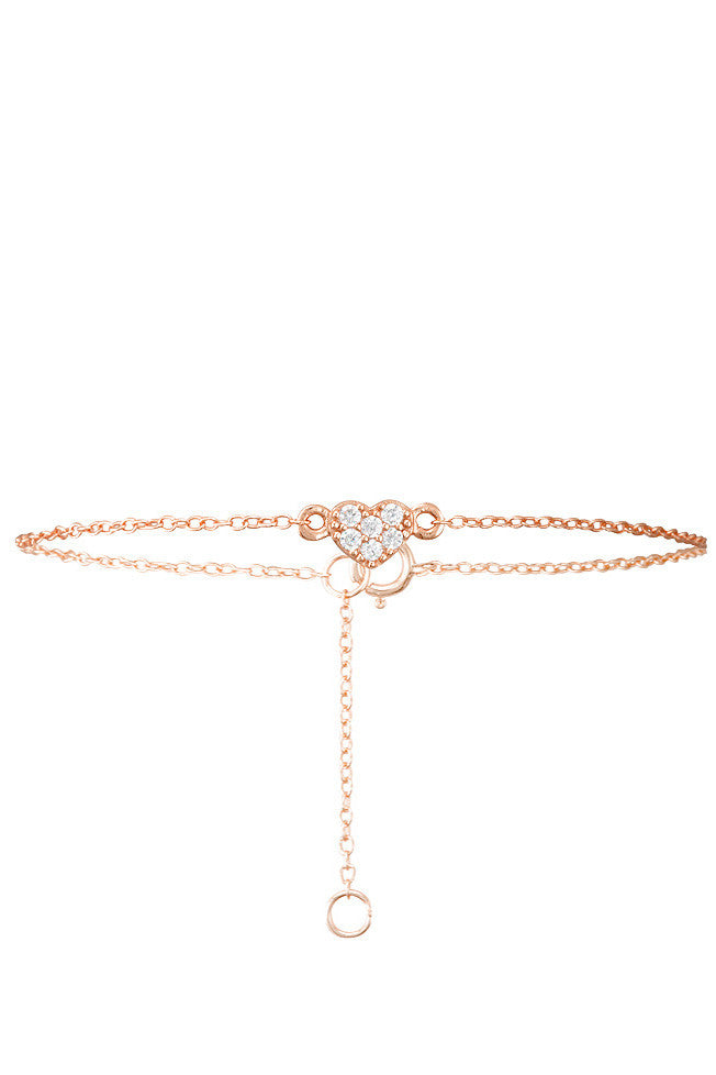 Rosie Bracelet in Rose Gold - HER Empire Fashion Boutique Terrigal & Online