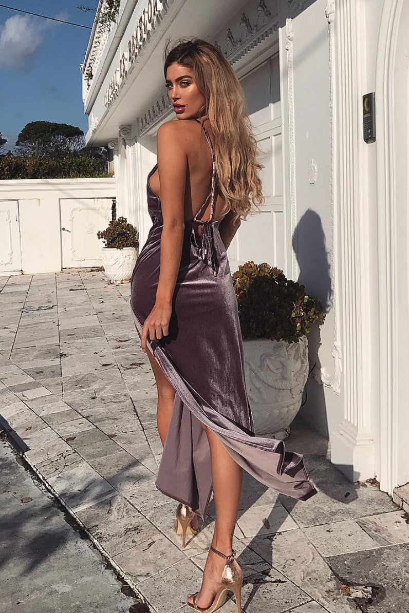 Don't Be Jealous Velvet Maxi