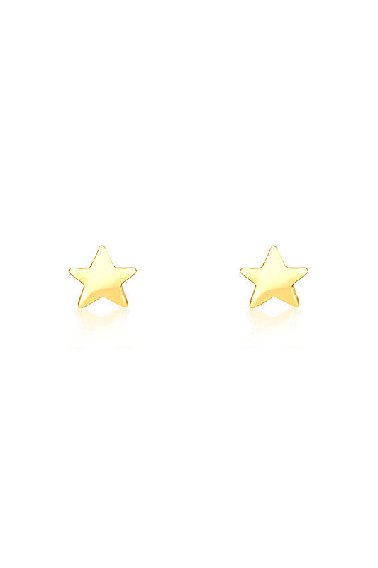 Star Earrings in Gold - HER Empire Fashion Boutique Terrigal & Online