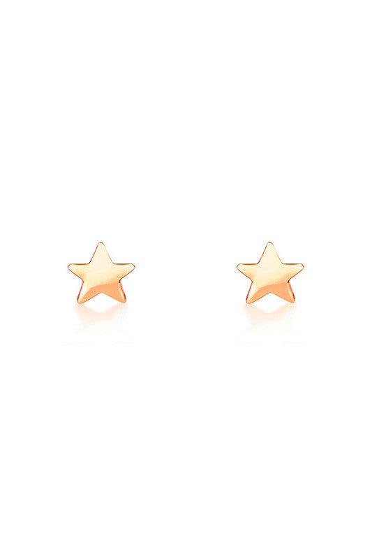 Star Earrings in Rose Gold - HER Empire Fashion Boutique Terrigal & Online
