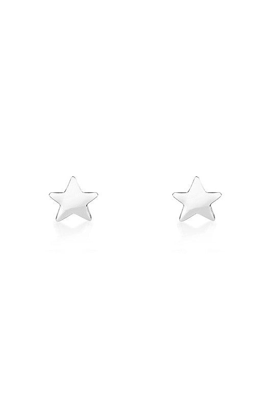 Star Earrings in Silver - HER Empire Fashion Boutique Terrigal & Online