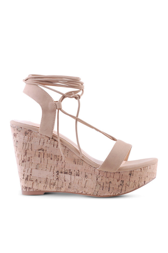 Appelo Cork Wedge - HER Empire Fashion Boutique Terrigal & Online