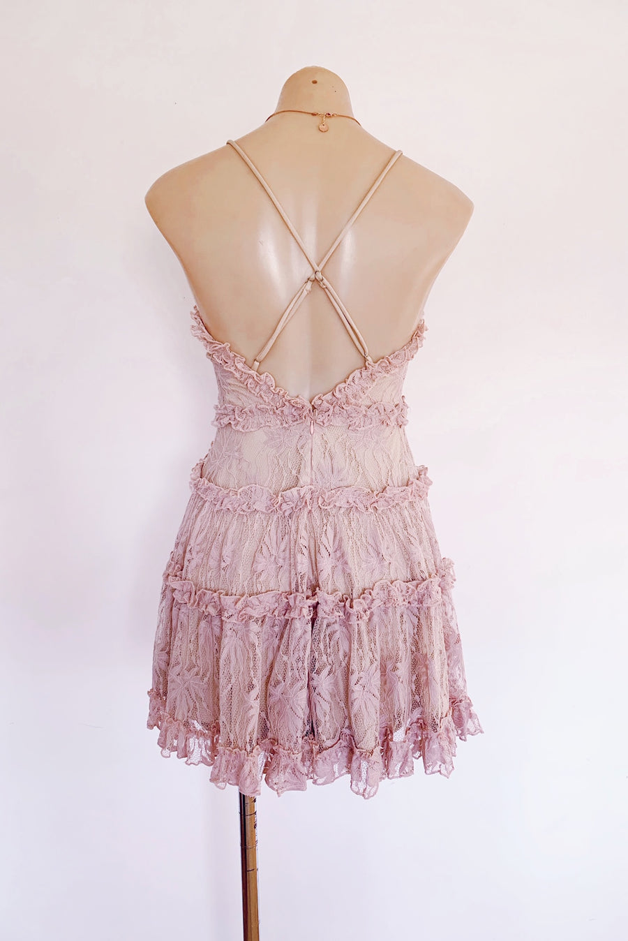 Everlee Dress in Blush for $79.95