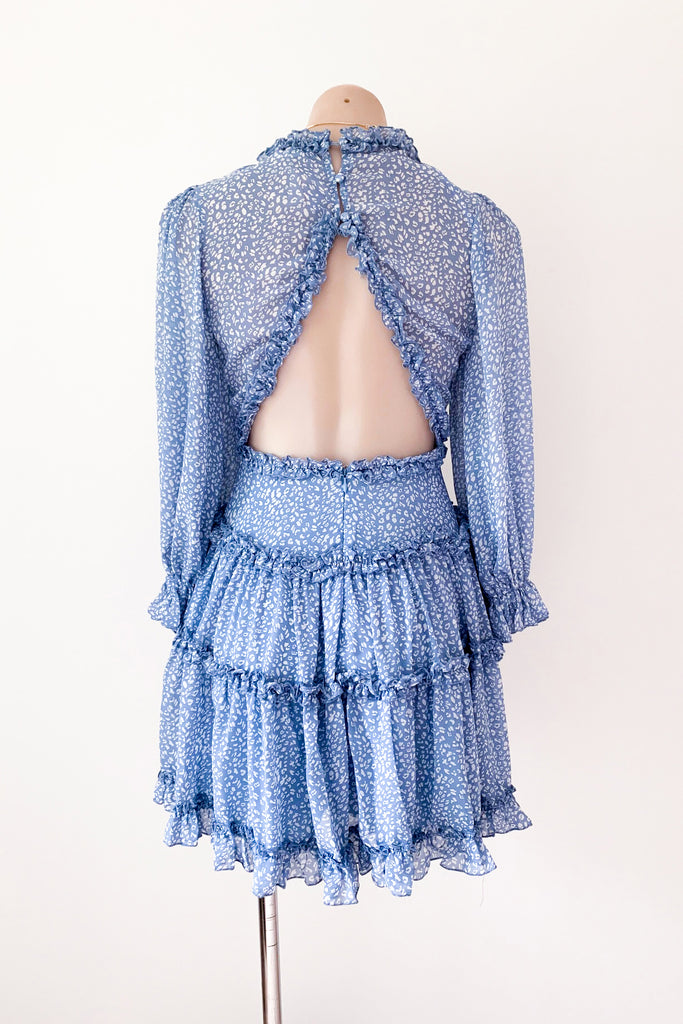 Aria Dress in Blue for $95.00