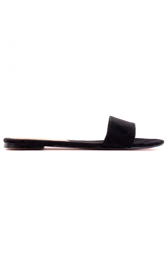 Edin Slides - Black Micro - HER Empire Fashion Boutique Terrigal & Online