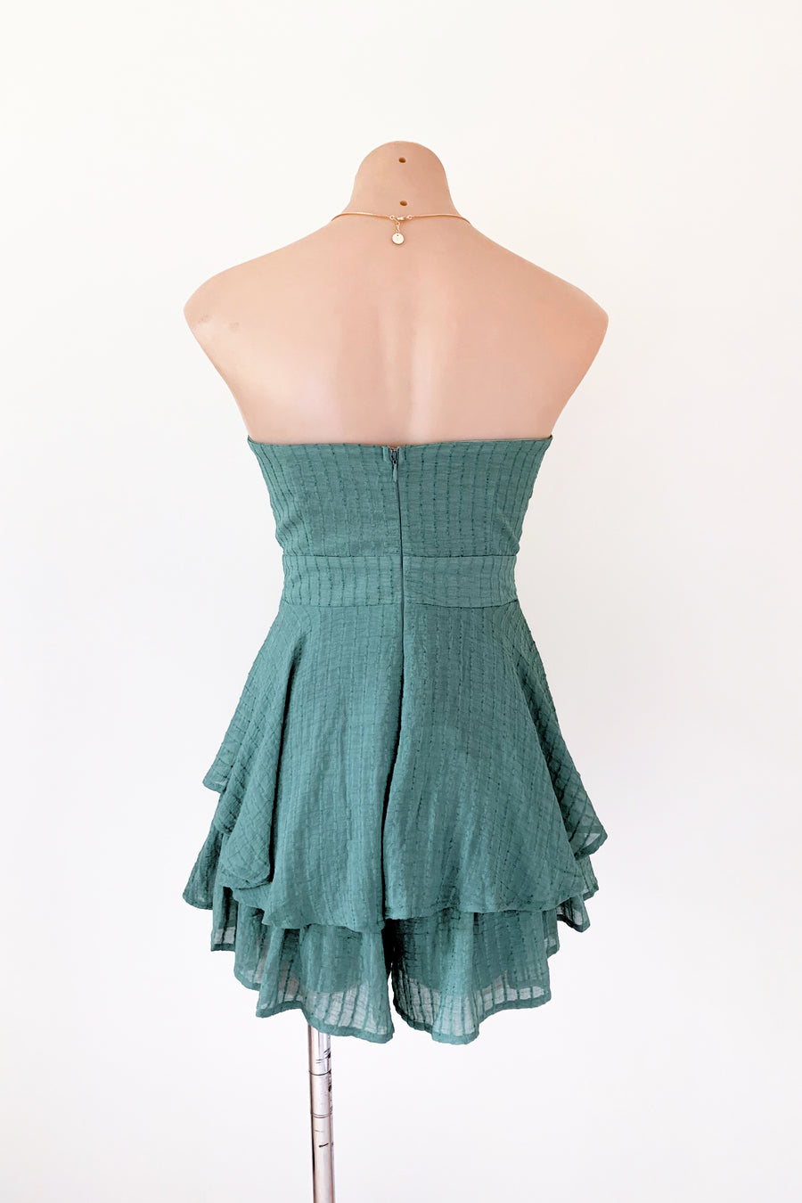 Amore Playsuit in Green