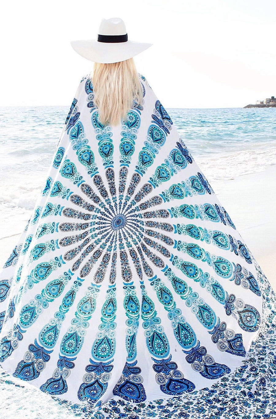 Goddess Mandala Throw - HER Empire Fashion Boutique Terrigal & Online