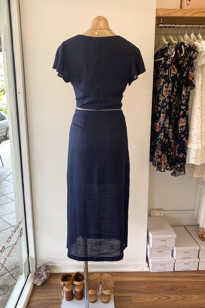 Cassidy Set in Navy - HER Empire Fashion Boutique Terrigal & Online