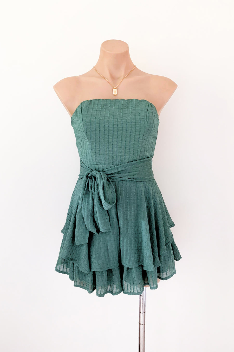 Amore Playsuit in Green - HER Empire Fashion Boutique Terrigal & Online