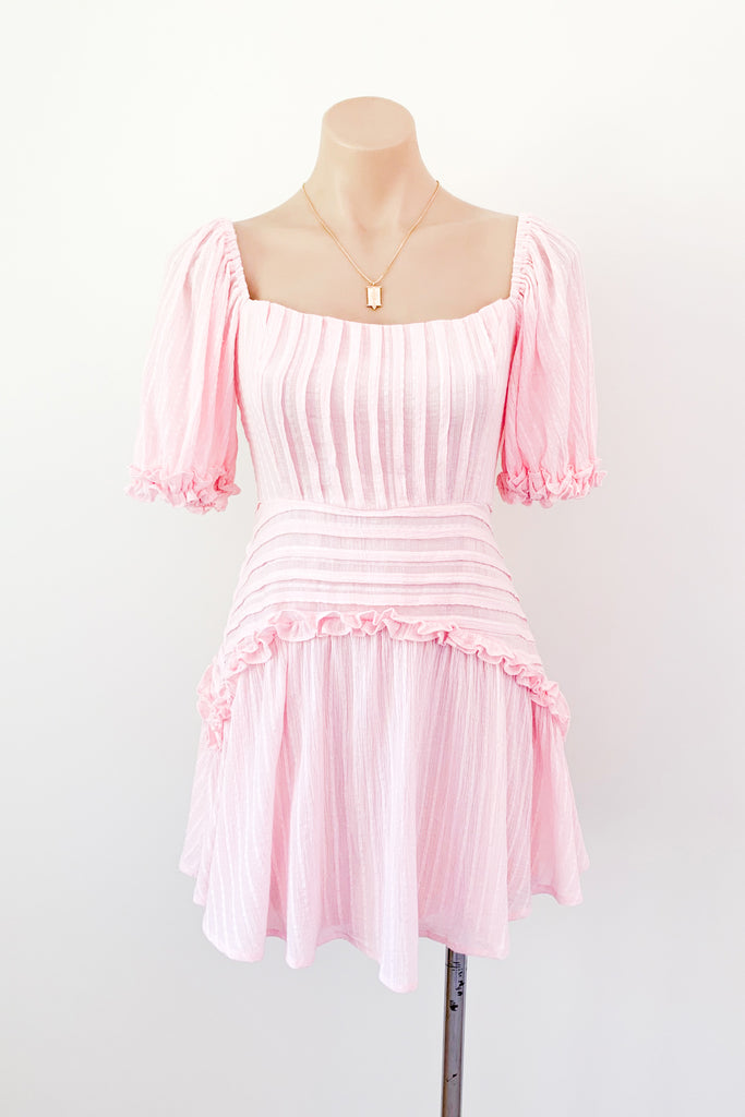 Molly Dress in Pink for $95.00
