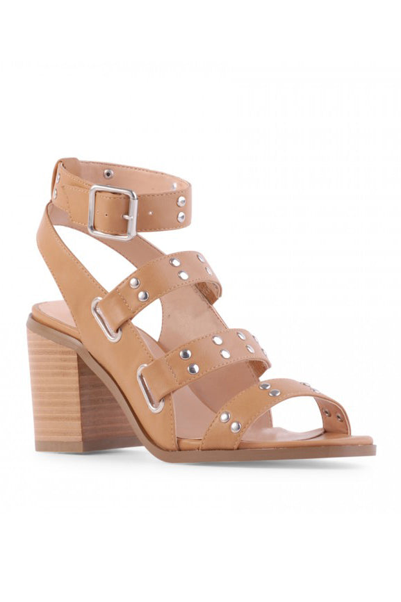 Ramiro Heels - Tan by Verali