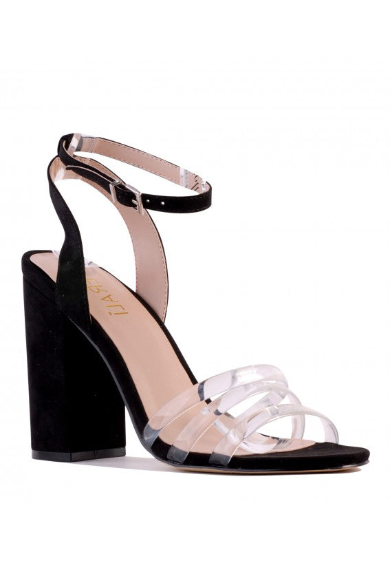 Reily Heel in Black Micro - HER Empire Fashion Boutique Terrigal & Online