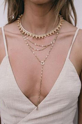 Bojana Necklace in Gold