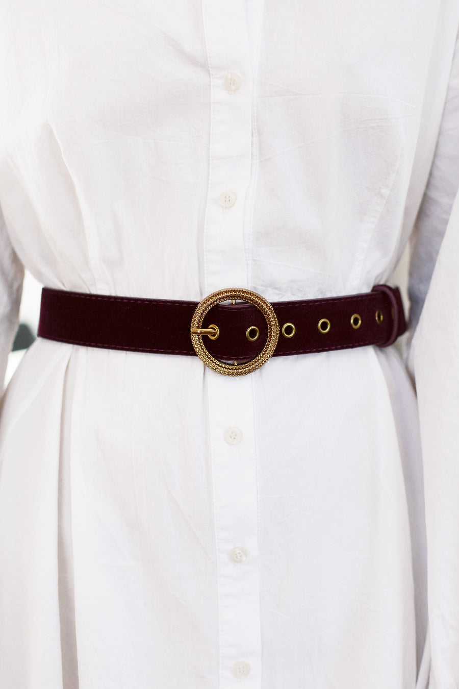 vintage gold buckle belt