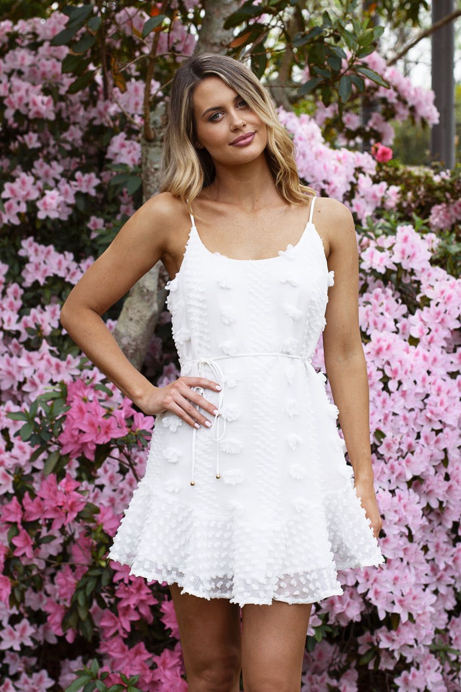 Leah Dress in White - HER Empire Fashion Boutique Terrigal & Online