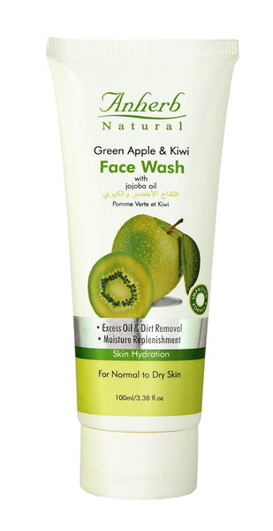 Green Apple & Kiwi Face Wash - 100g