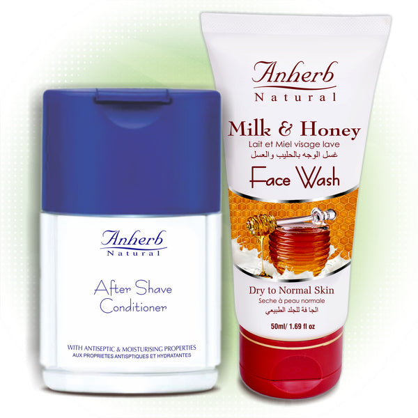 After Shave Conditioner-120ML (FREE Face Wash - Milk & Honey-50ML)