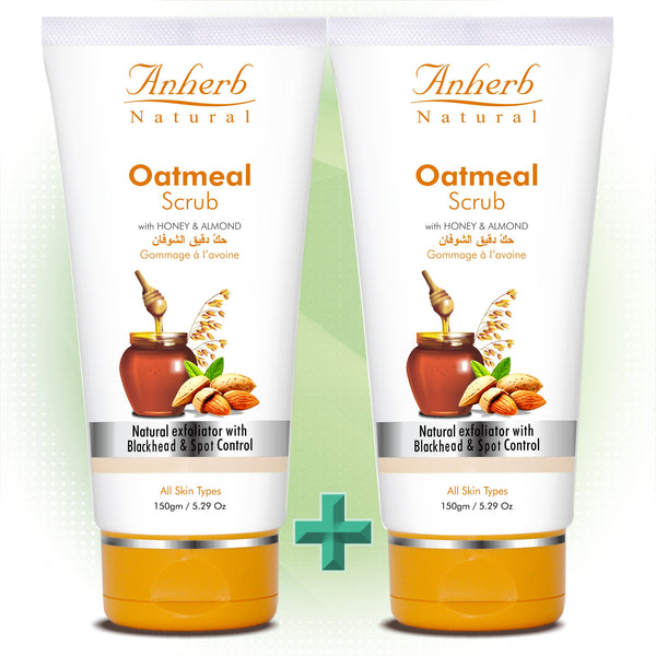 Oatmeal Scrub-150gm (Pack of 2)