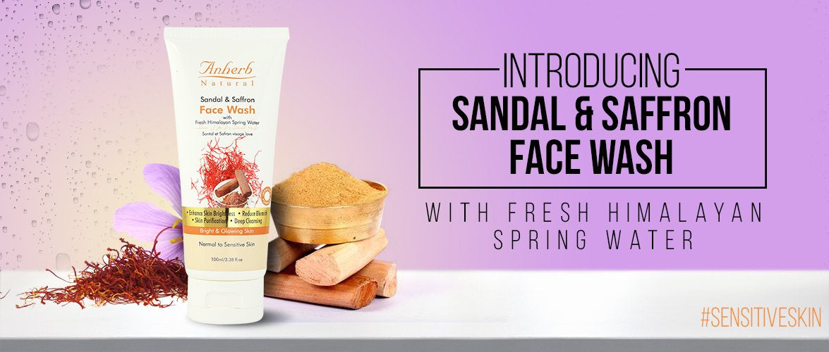 Sandal & Saffron Face Wash