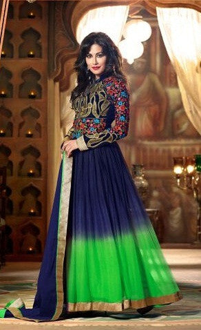 Swagat anarkali suit 9004