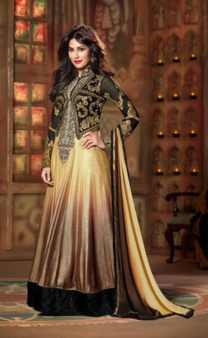 Swagat golden arnakali suit 9005