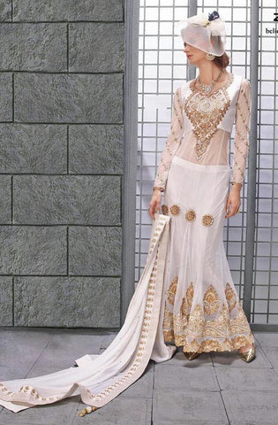 White,Silk,Net,Designer suits anarkali heavy embroidery suits