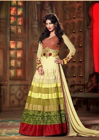 Swagat Indowestern anarkali suit 9006