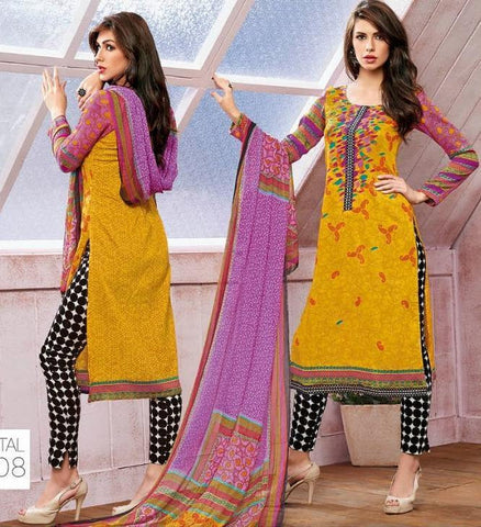 Suits Multicolor,Glaze cotton