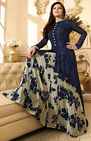 Multi,Georgette,Heavy designer party wear suits