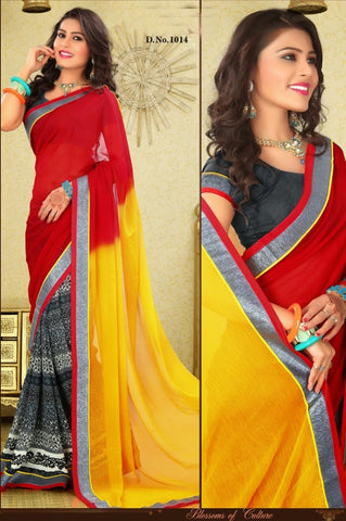 Velvet queen Saree 1014