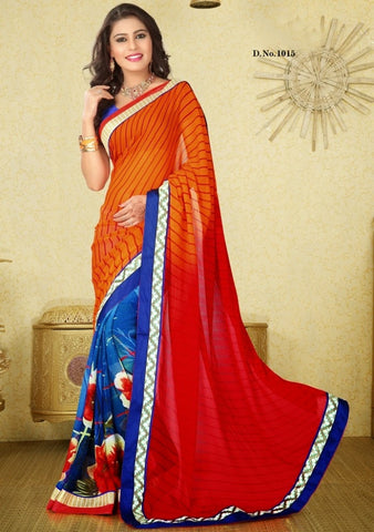 Velvet queen Saree 1015