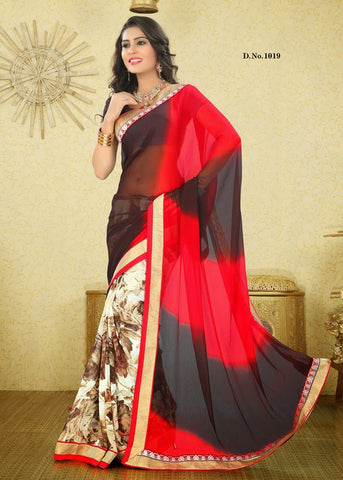 Velvet queen Saree 1019