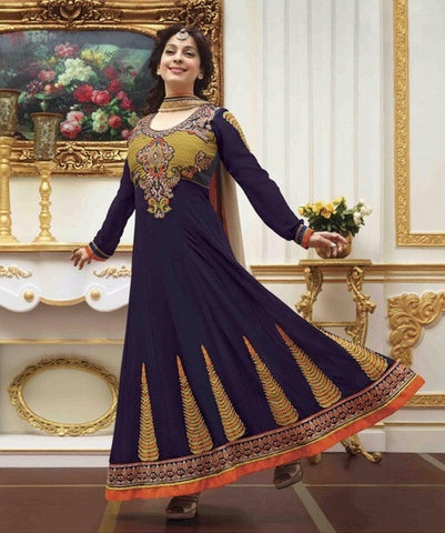 Anarkali long designer heavy embroidered suits
