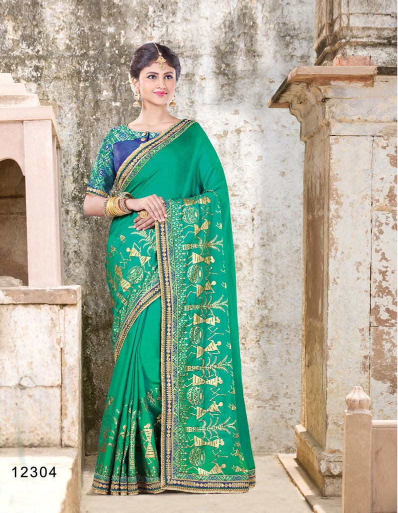 8911c875edc0d Online Shopping Bridal And Party Wear Saree On Cash On Delivery Below 6000  – Banglewale.com