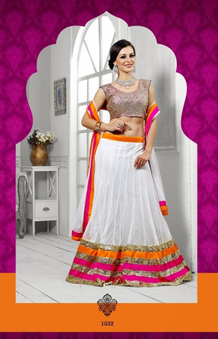 Women in Designer lehenga