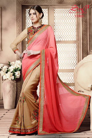 S&P Saree 17003