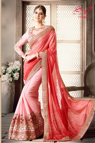 S&P Saree 17008