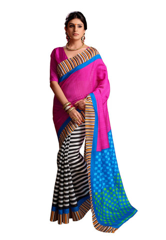 Multi Art Silk saree
